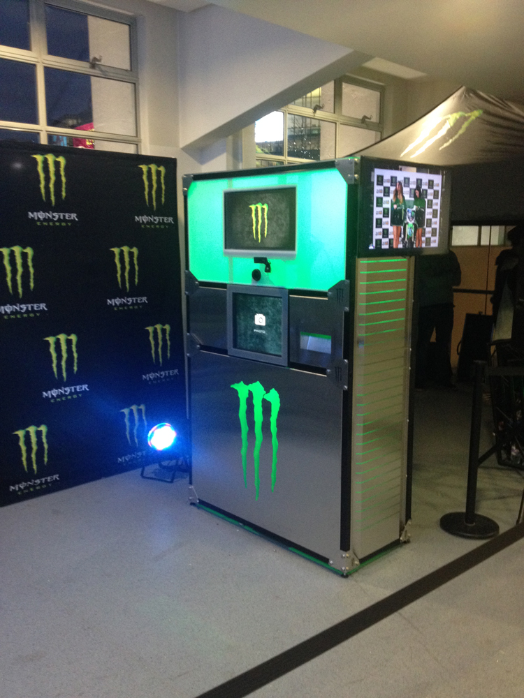 Monster Energy Photo Booth