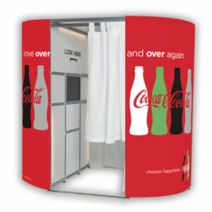 Coca Cola Marketing Photo Booth