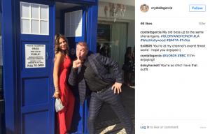 Doctor Who Tardis Photo Booth at the LA BAFTAs