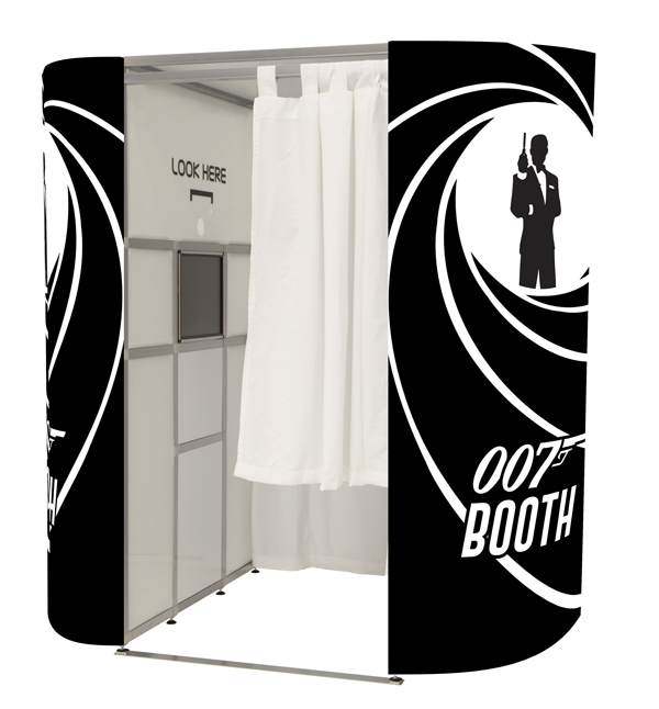 James Bond photobooth