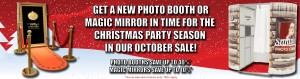 Our Christmas photo booth and magic mirror sale - save up to 40% off