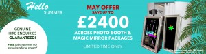 Photo booths and Magic Mirrors for Sale