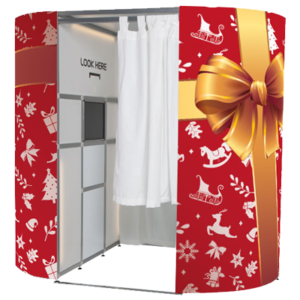 Xmas Gift Photo Booth Skins