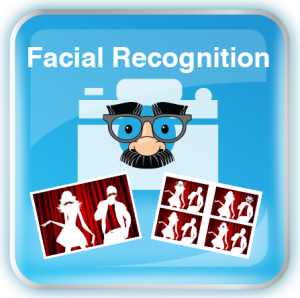 Photobooth Facial Recognition Icon