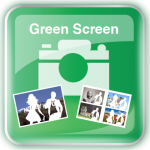 Photobooth Green Screen Icon
