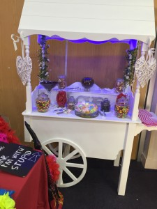 Second Hand Candy Cart