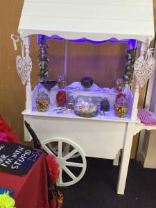 Second Hand Candy Cart