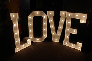 LED Marquee Letters 4ft Steel