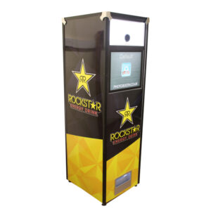 Branded Selfie Pod for Rockstar Energy Drinks