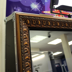 Magic Mirror | Bronze Magic Mirror Frame | Mirror Booth
