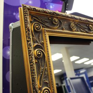 Magic Mirror | Gold Magic Mirror Frame | Mirror Booth