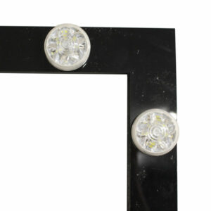 Black LED Hollywood Frame Design