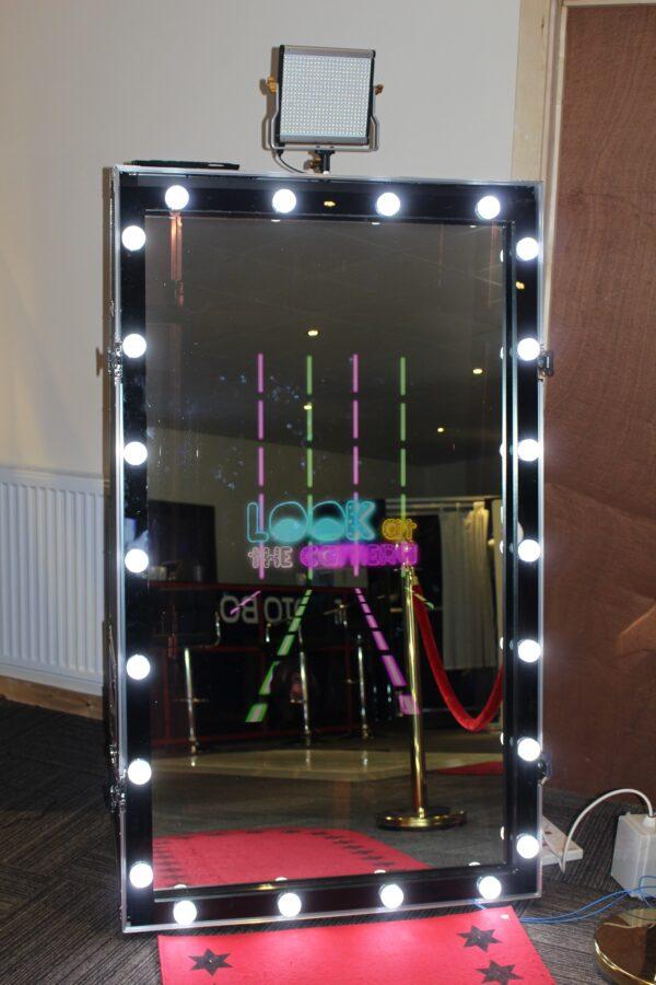 Magic Photo Mirror with LED Frame
