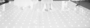 Grey LED Dance Floor Banner