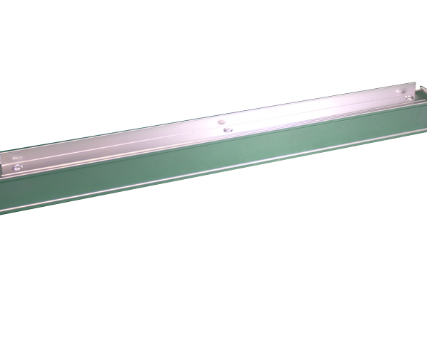 Aluminium Frame Section with 1 Angle - 417mm