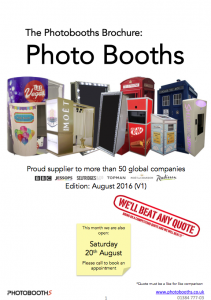 Photobooth Brochure August 2016