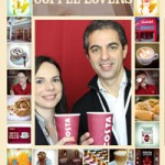 Branded Costa Coffee Photo Booth Prints
