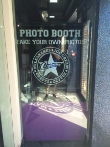 Creams Cafe Photo Booth
