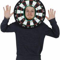 Dart BoardHead Mask Mask Photo Booth Prop