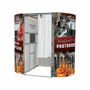 Haunted Halloween Photo Booth Skins