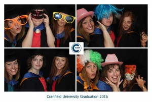 Cranfield Uni Photo Booth Graduation