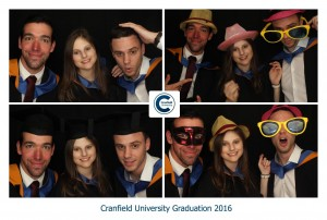 Cranfield Uni Photo Booth Graduation