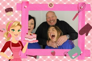 Bake Off Photo Booth Template