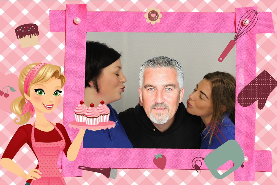 Photobooths with Paul Hollywood