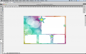 How to Create a Photo Booth Template - Adding a layer