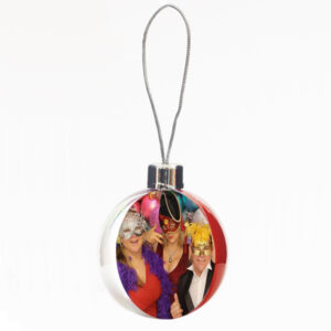 Christmas Bauble Photo Frame
