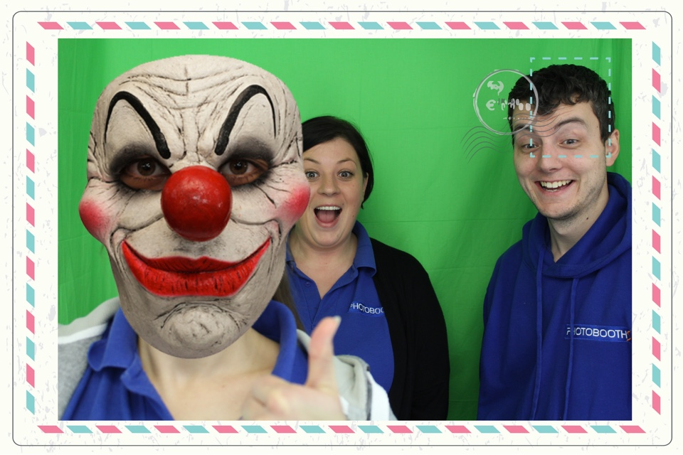 Clown Craze in Photo Booth