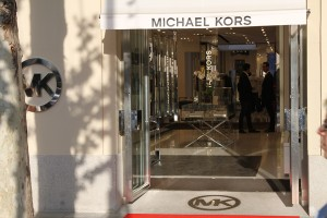 Michael Kors Shop Front