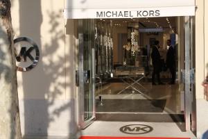 Michael Kors Shop Front