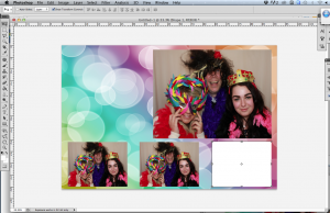 How to Make a Photo Booth Template - Adding Pictutres