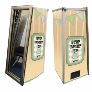 Magic Mirror Booth SE with Yellow Vintage Skins