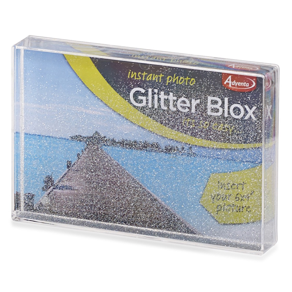 Vision Blox Glitter Acrylic Photo Frame