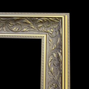 Ornate Gold Frame Design for Magic Mirror