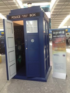 Doctor Who Photo Booth Tardis