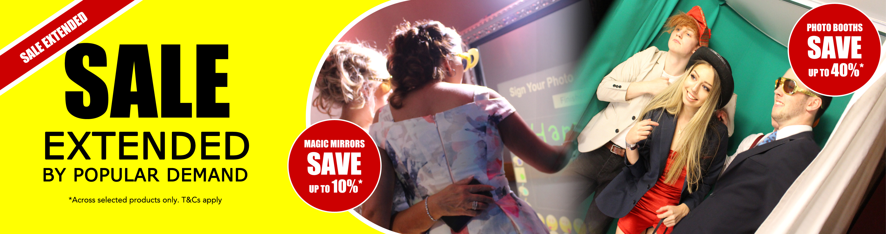Photobooths Photo Booth Sale September