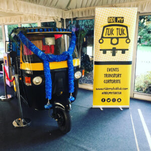 Ride my Tuk Tuk Photo Booth Wedding Hire
