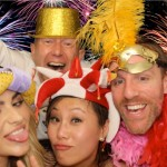 A party photo take in one of our photo booths!