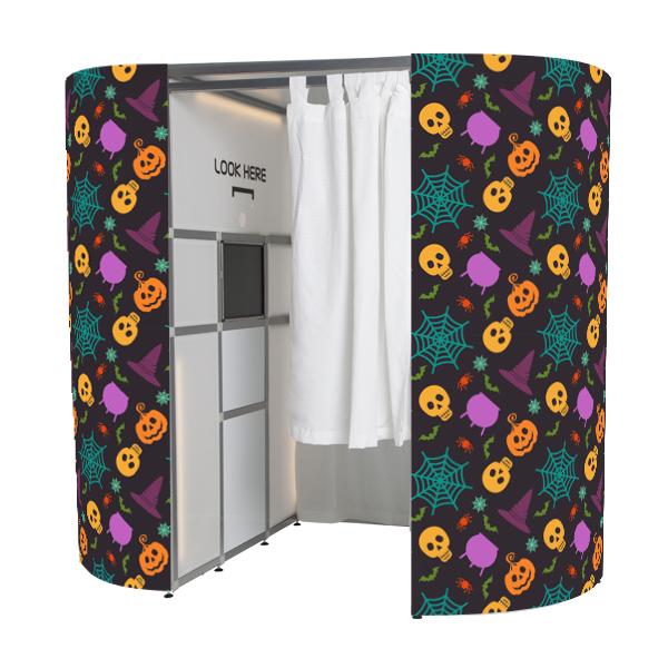 Halloween photo booth skin