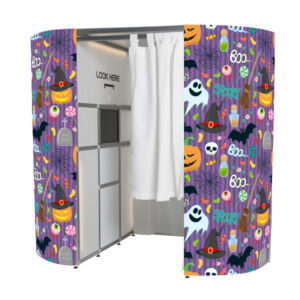 Halloween photo booth skin