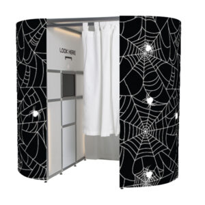 Spiders Web Halloween photo booth skins
