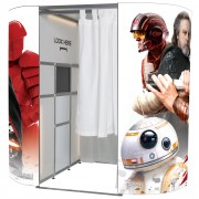 Star Wars photo booth skin