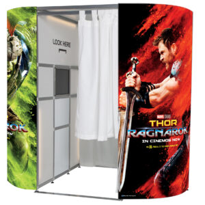 Thor: Ragnarok photo booth skin