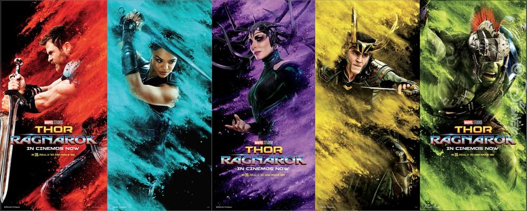 Thor: Ragnarok photo booth skin - full view