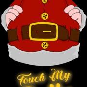 SantaTouchmyBelly