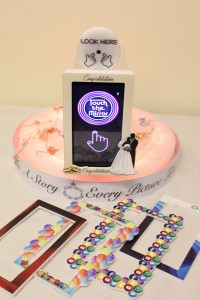 table selfie touch frames