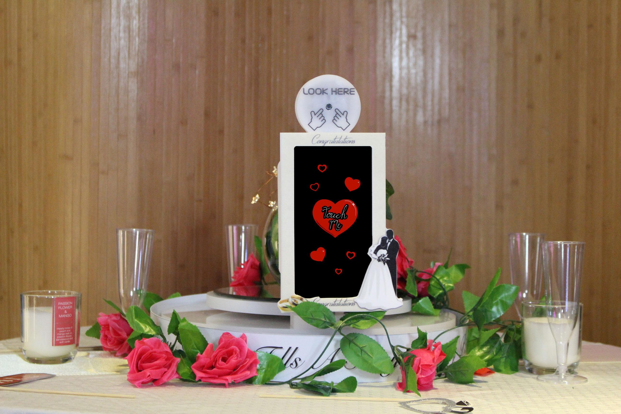 Table Selfie Touch Weddings